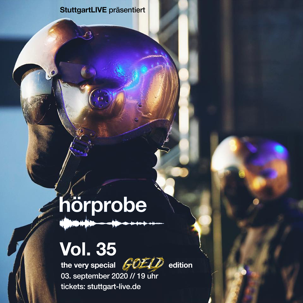 hörprobe Vol. 35 - the official home of hörprobe flyer
