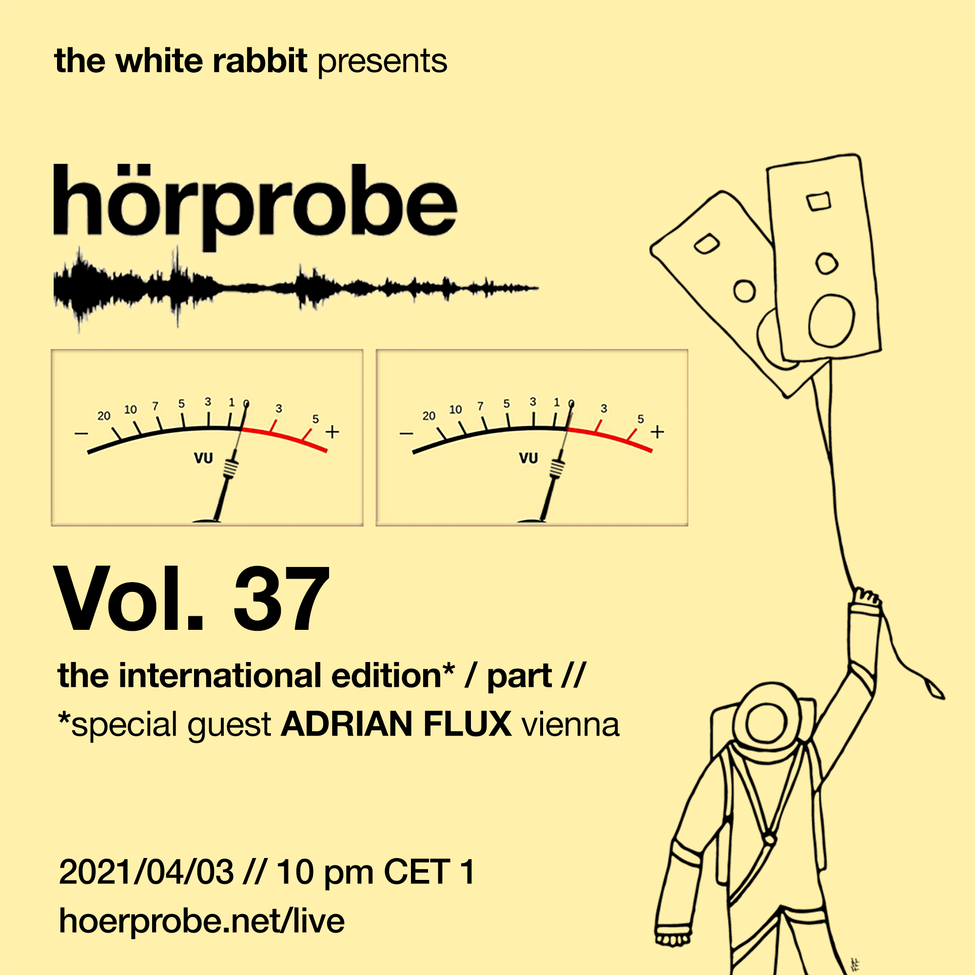 hörprobe Vol. 37 - the official home of hörprobe flyer
